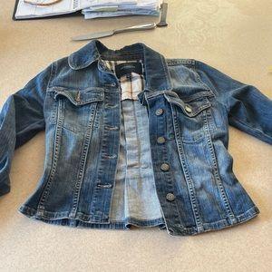 Xs Burberry jean jacket